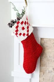 crochet kit the stockholm stocking out of stock eta december