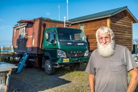 75 yr old man travels world with incredible house truck