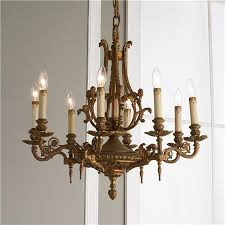 Painting Brass Chandelier Antique Brass Chandelier Modern Home Design