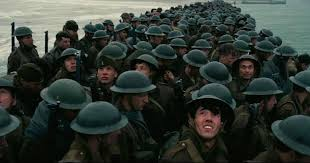 dunkirk bbc film wwii blockbuster dunkirk ruined by smiling extra in sea of terrified