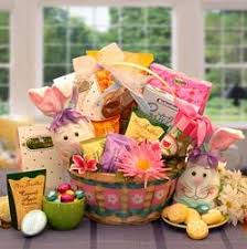 Gourmet Easter Baskets Easter Gift Baskets With Bunnies Eggs Chocolate