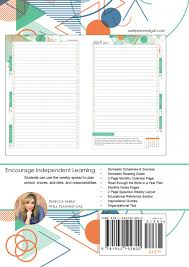 2017 2018 student planner from well planned gal tech style