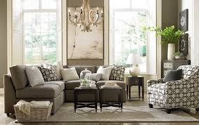 Living Room Furniture Raleigh by Beckie L Shaped Sectional By Bassett Furniture Contemporary