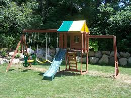 e street assembly big backyard cedar summit built