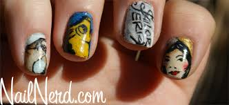 nail nerd nail art for nerds sailor jerry tattoo nails