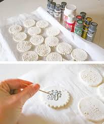 vintage inspired diy sted clay ornaments shelterness