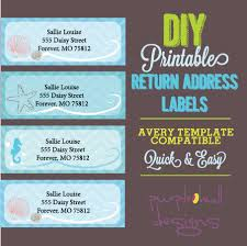 Avery Template 30 Labels Per Sheet Address Labels Turquoise Avery Template