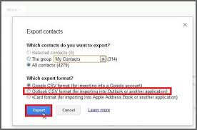 csv format outlook import how to export your contacts from gmail to outlook 2016