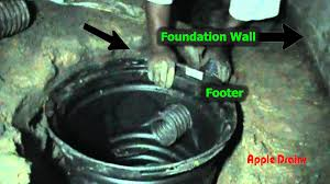 sump pump install in crawl space by apple drains charlotte north