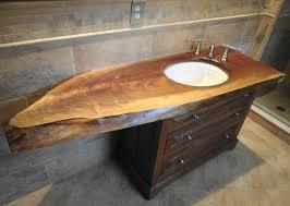 Bathroom Vanity Standard Depth Bathroom Custom Built Organic Vanity On Intended For Vanities