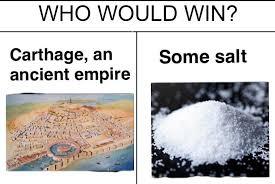 Bath Salts Meme - salt carthage historymemes