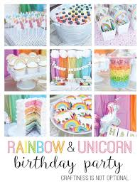Rainbow Themed Birthday Favors by Best 25 Rainbow Unicorn Ideas On Rainbow