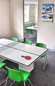 table tennis meeting table now that is what i am talking about