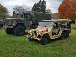 military jeep tan hanson mechanical vintage jeep and other antique machine