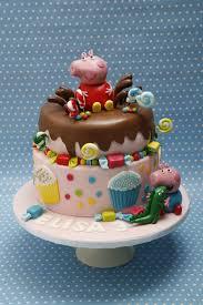 peppa pig and george birthday cake 4th birthday cake ideas