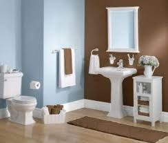 blue and brown bathroom ideas simple and serene calming chocolate brown walls contrast with