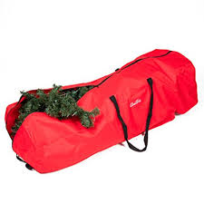 tree storage bag with wheels xl heavy duty