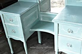 Diy Vanity Makeup Table Serendipity Refined Blog Help With Your Diy 4 Chalk Painted