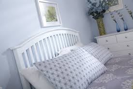 gfw madrid wooden ottoman bed frame in white beds direct