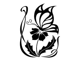 tribal butterfly u0026 flower tattoo tattoo tabatha tats