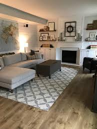 modern farmhouse living room interior define sofa west elm