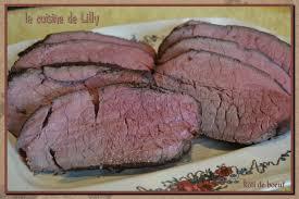 cuisine basse temperature rôti de boeuf cuisson basse température la cuisine de lilly