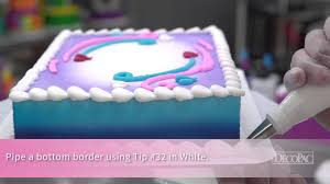 frozen follow your heart decoset cake design youtube