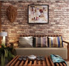 wallpaper for livingroom brick wallpaper in living room