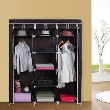amazon com songmics clothes closet non woven fabric wardrobe