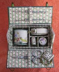 embroidered boxes there are kits for these things inspirations