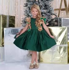 aliexpress com buy emerald green little girls birthday dress