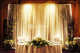 wedding registration decoration of the on a wedding registration of a table of