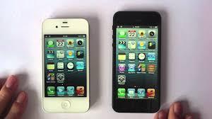 iphone 4s design comparatif iphone 5 vs iphone 4s design et rapidité