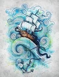 ship tattoo sketch bucheinband neu pinterest sketches ships