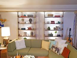 Living Room Shelving Units by Simple Wood Open Shelving Units Living Room Divider Design 8