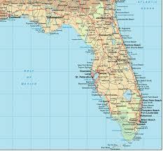 florida towns map map usa florida cities major tourist attractions maps