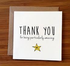 appreciation cards thank you card appreciation card you re amazing a