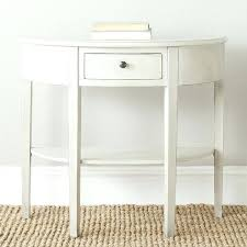 Half Circle Accent Table Half Console Table White Half Moon Console Table Lovely Half