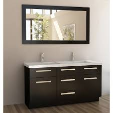 Double Bathroom Sink Cabinets Shop Double Sink Vanity Styles Modern Bathroom Vanities Modern