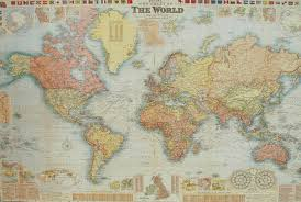 map paper print map gw bacon and paper paper map spainforum me