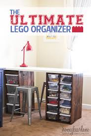 Ultimate Desk Organizer The Ultimate Lego Organizer Honeybear