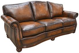 Traditional Leather Sofas Sofas Marvelous Sectional Sofa With Nailhead Trim Leather