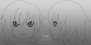 yuki head model template 01 by johnnydwicked on deviantart