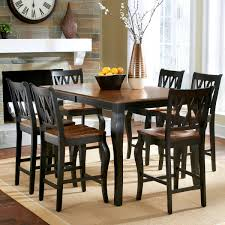 roslyn 7 piece counter height dining set