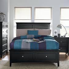kids storage bedroom sets cooperstown storage bedroom collection black jerome s furniture