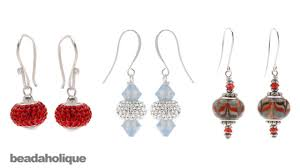 earring styles how to make earrings using european style large