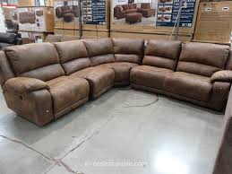 leather reclining sectional sectional sofas with recliners