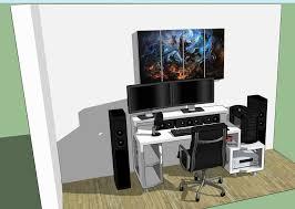 Paragon Gaming Desk Paragon Gaming Desk Design By Tom Balko Ayresmarcus