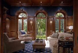 Houzz Library by English Country Style Lloyd Harbor New York