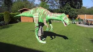 homemade dinosaur costume 4 meters long youtube